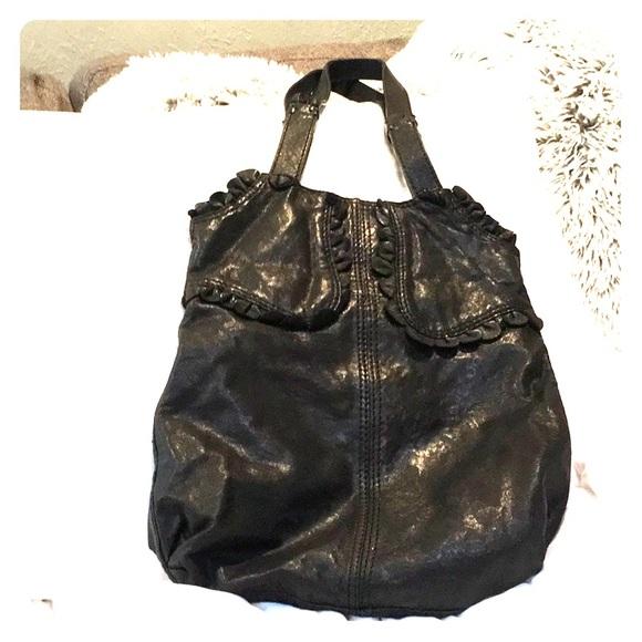 Lucky Brand Bags   Black Leather Bohemian Bag   Poshmark 6e979322ae